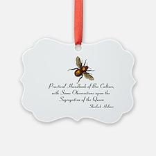 Sherlock's Bees Ornament