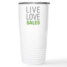 Live Love Sales Thermos Mug