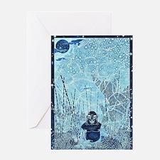 Cool Bodhi tree Greeting Card