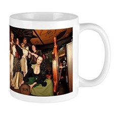 Wenches Of Wine - Captured Captain! Mugs