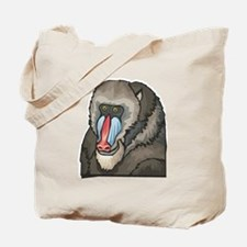 Baboon Design Tote Bag