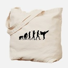 Martial Arts Evolution Tote Bag