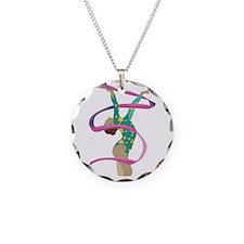 Ribbon Gymnast Necklace