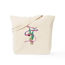 Ribbon Gymnast Tote Bag