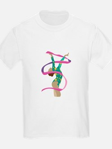 Ribbon Gymnast T-Shirt