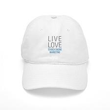 Live Love Search Engine Marketing Baseball Cap