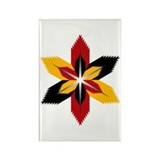 Native american Rectangle Magnet (10 pack)