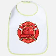 Firefighter Badge Bib