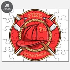 Firefighter Badge Puzzle