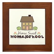 Home Sweet Homeschool Framed Tile Gift