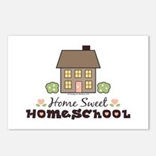 Home Sweet Homeschool Postcards (Package of 8)