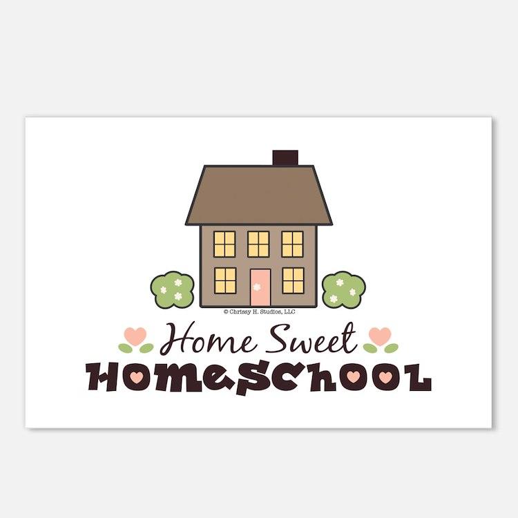 Home Sweet Homeschool Postcards (Package of 8)