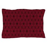 Gothic red Pillow Cases