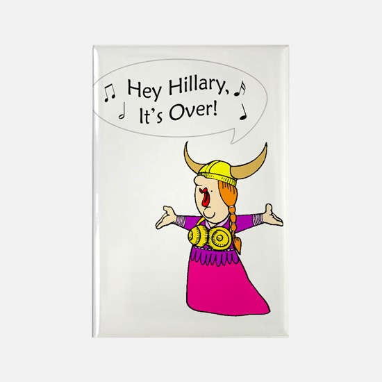 Goodbye Hillary Rectangle Magnet