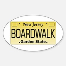 Boardwalk NJ Tag Giftware Decal