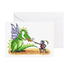 Brave Knight Greeting Cards (Pk of 20)