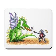 Brave Knight Mousepad