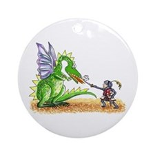 Brave Knight Ornament (Round)