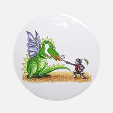 Brave Knight Ornament (Round)