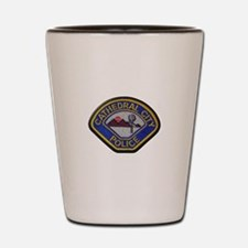 Cathedral City Police Shot Glass