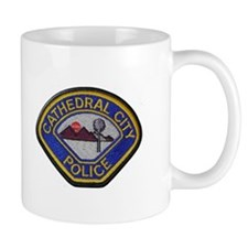 Cathedral City Police Mugs