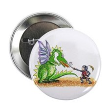 Brave Knight Button