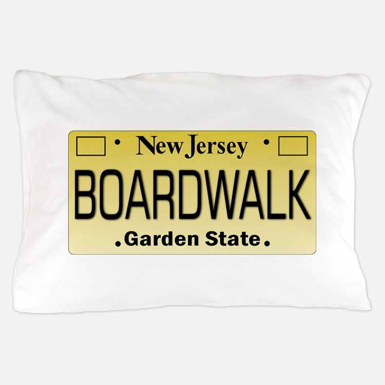 Boardwalk NJ Tag Giftware Pillow Case