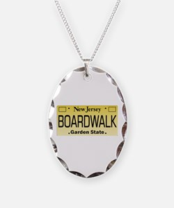 Boardwalk NJ Tag Giftware Necklace