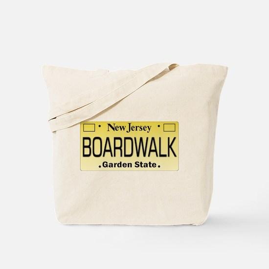 Boardwalk NJ Tag Giftware Tote Bag