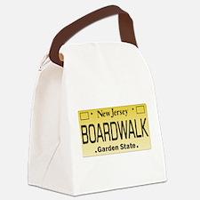 Boardwalk NJ Tag Giftware Canvas Lunch Bag