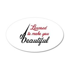 MAKE YOU BEAUTIFUL Wall Decal