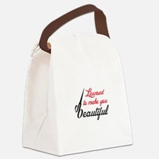 MAKE YOU BEAUTIFUL Canvas Lunch Bag