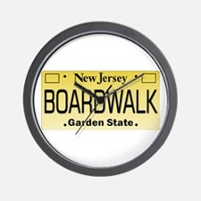 Boardwalk NJ Tag Giftware Wall Clock