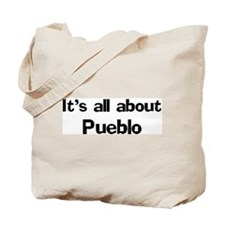 About Pueblo Tote Bag