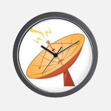 Satellite Dish Wall Clock