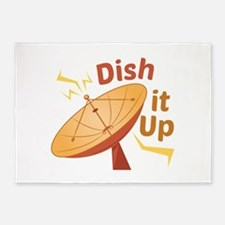 Dish It Up 5'x7'Area Rug