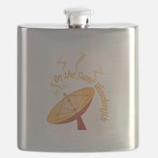 Same Wavelength Flask