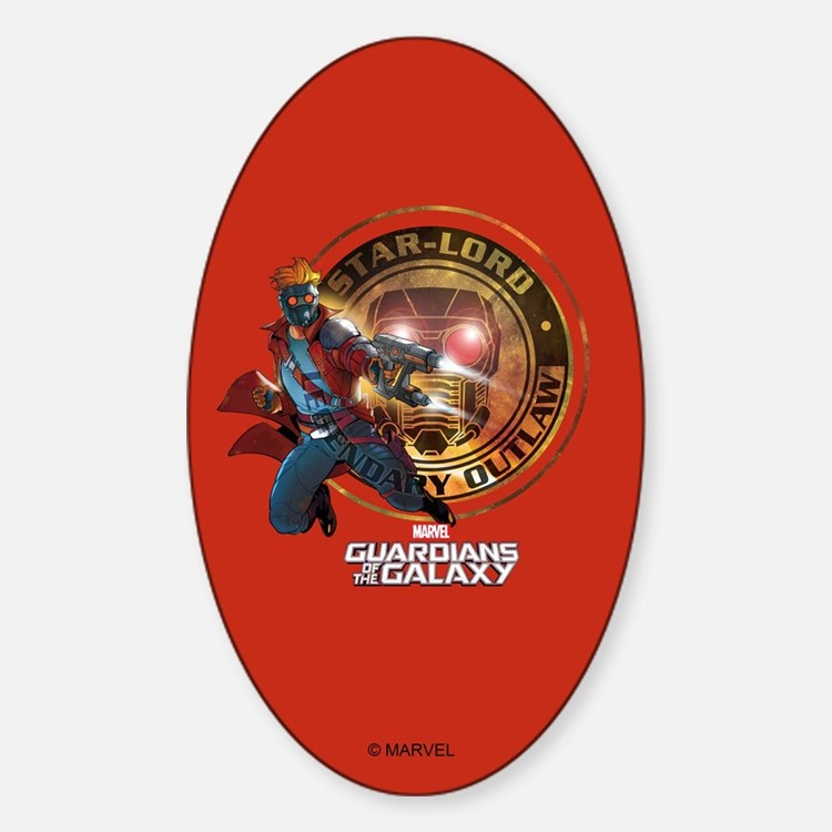Guardians of the Galaxy Star-Lord Decal