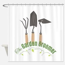 Garden Groomer Shower Curtain