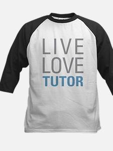 Live Love Tutor Baseball Jersey
