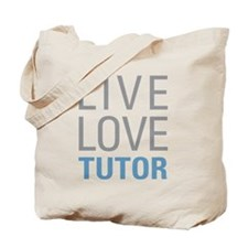 Live Love Tutor Tote Bag