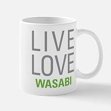 Live Love Wasabi Mugs