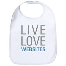 Live Love Websites Bib