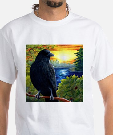 Bird 63 crow raven T-Shirt
