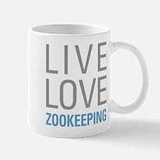 Live Love Zookeeping Mugs