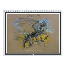 Wall Calendar - DRAGON ART