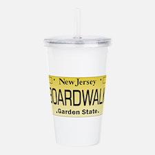 Boardwalk NJ Tag Giftw Acrylic Double-wall Tumbler