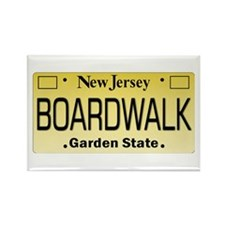 Boardwalk NJ Tag Giftware Magnets