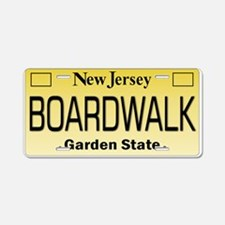 Boardwalk NJ Tag Giftware Aluminum License Plate