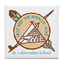 Unique Native american religions Tile Coaster